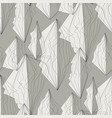 corner lines and polygons seamless pattern vector image
