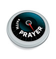 faith and prayer meter concept vector image vector image