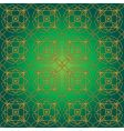 green swirly whirly seamless tile vector image