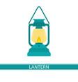 lantern icon vector image vector image