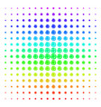 network icon halftone spectral effect vector image vector image