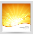 Sunny background vector | Price: 1 Credit (USD $1)