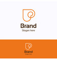 up name logo vector image