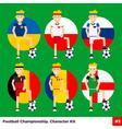 Football Kit 3 vector image