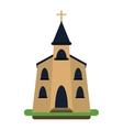 church building religious christian vector image