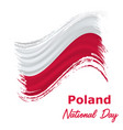 11 november poland independence day vector image vector image