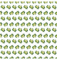 bedding with a pattern of flowering vector image vector image