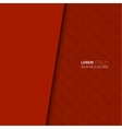blank with red background vector image vector image