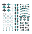 Collection of premium design elements Set of vector image