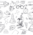Education icon doodle seamless vector image vector image