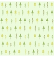 Geometric spruces seamless pattern vector image vector image