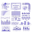 Hand drawn info graphics vector image vector image
