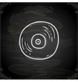 Hand Drawn Vinyl Record vector image vector image