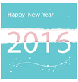 happy new year colorful greeting card design vector image