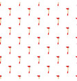 red axe pattern vector image vector image