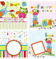 template birthday greeting card