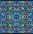 abstract ethnic vintage seamless pattern tribal vector image