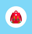 backpack icon sign symbol vector image