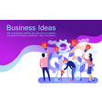 business creative idea web banner vector image
