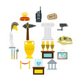 check mark icons set flat style vector image
