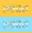 internet shops and discounts vector image vector image