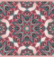 pattern of mandalas vector image vector image