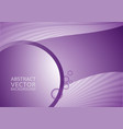 purple abstract background with copy-space vector image vector image