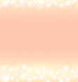 romantic abstrack sparkling frame background vector image vector image