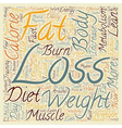 Scientific Guidelines for Effective Weight Loss vector image vector image