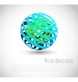 Background with abstract element vector image