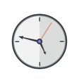 Time and Clock Icon Office Interior Design vector image