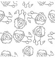 collection lion doodle style hand draw vector image