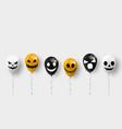 happy halloween message design background eps 10 vector image vector image