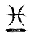 Pisces symbol vector | Price: 1 Credit (USD $1)