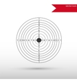 Target Icon Flat design style vector image vector image