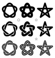 medieval Occult signs vector image