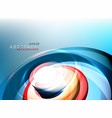 abstract colors media motion graphics vector image vector image