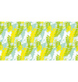 acacia spring blossom flower seamless pattern vector image