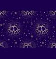 christmas pattern seamless christmas pattern vector image vector image