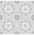 mandala eastern pattern zentangl seamless vector image vector image