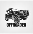 off-road car image vector image vector image