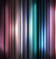 Colorful and shiny stripes background vector image vector image