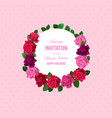 flowers roses art vector image