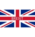 Great Britain referendum on secession from vector image vector image