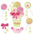 lollipop bouquet vector image vector image