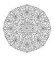 mandala flower vintage decorative elements vector image