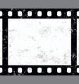 old vintage retro 35 mm grunge film frame vector image vector image