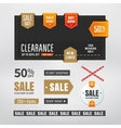 Sale elements vector image