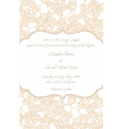 wedding card in retro design