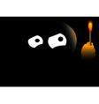 Darkness vector image vector image